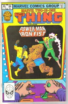 Marvel Two-In-One #94 Power Man and Iron Fist  comic book near mint 9.4