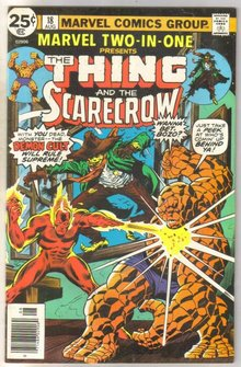 Marvel Two-In-One #18 Scarecrow comic book near mint 9.4