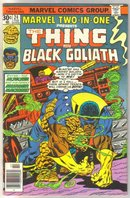 Marvel Two-In-One #24 Black Goliath comic book very fine 8.0