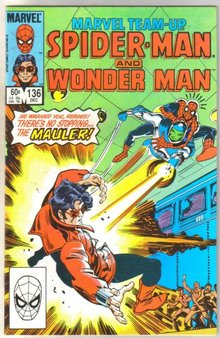 Marvel Team-Up #136 Wonder Man comic book near mint 9.4