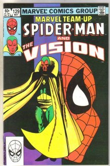 Marvel Team-Up #129 Vision comic book near mint 9.4