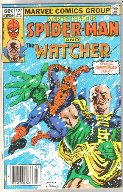 Marvel Team-Up #127 Watcher comic book near mint 9.4