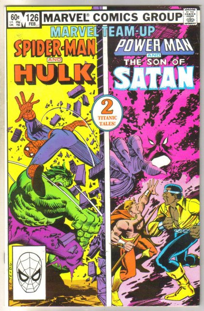 Marvel Team-Up #126 Hulk comic book near mint 9.4