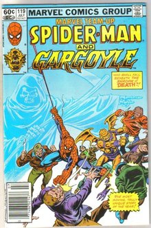 Marvel Team-Up #119 Gargoyle comic book near mint 9.4