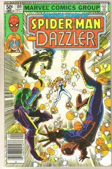 Marvel Team-Up #109 Dazzler comic book very good 4.0