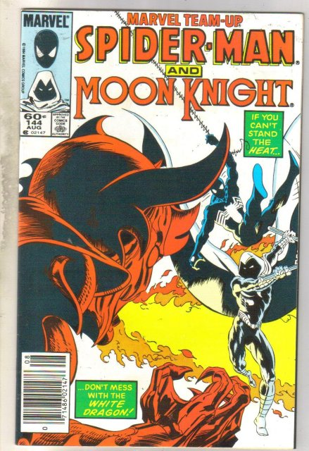Marvel Team-Up #144 Moon Knight comic book near mint 9.4