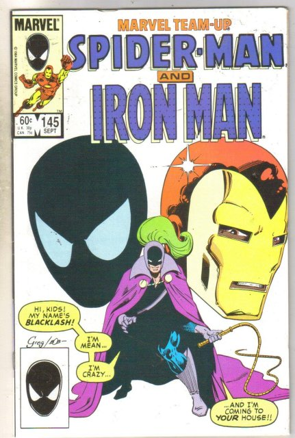 Marvel Team-Up #145 Iron Man comic book near mint 9.4
