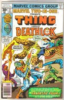 Marvel Two-In-One #27 Deathlok comic book near mint 9.4