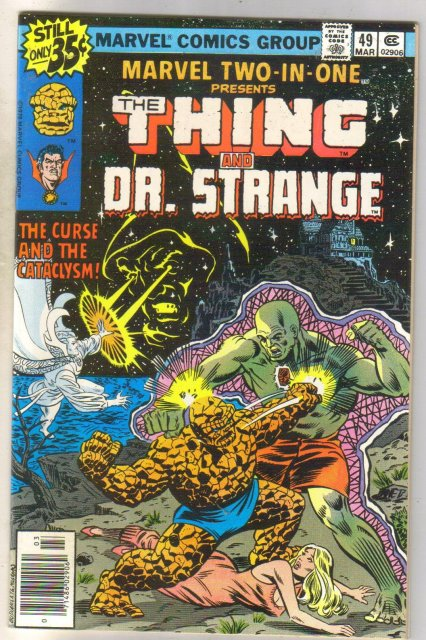 Marvel Two-In-One #49 Dr. Strange comic book mint 9.8