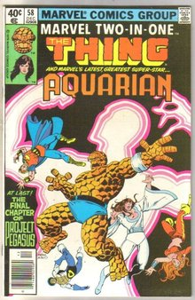 Marvel Two-In-One #58 Aquarian comic book mint 9.8
