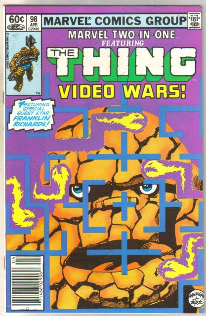 Marvel Two-In-One #98 Video Wars comic book mint 9.8