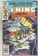 Marvel Two-In-One #100 Ben Grimm comic book near mint 9.4