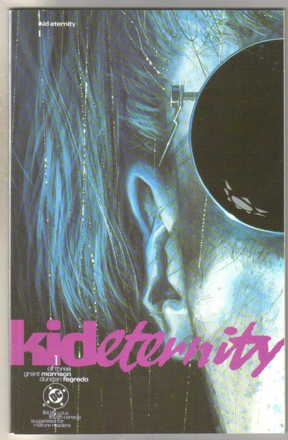 Kid Eternity #1 comic book mint 9.8