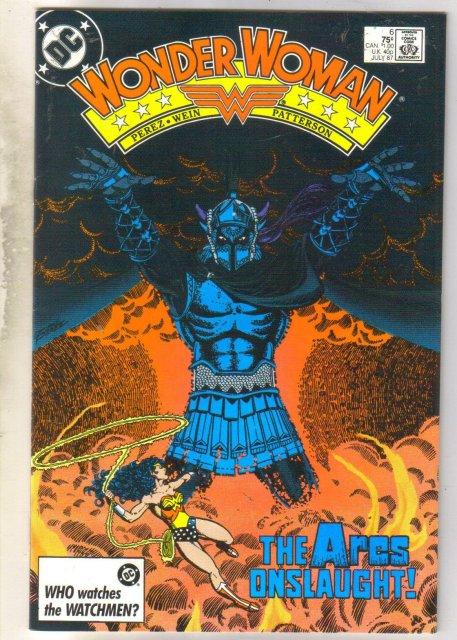 Wonder Woman #6 comic book near mint 9.4