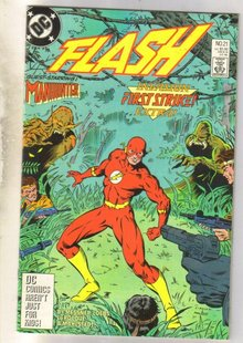 Flash #21 comic book near mint 9.4