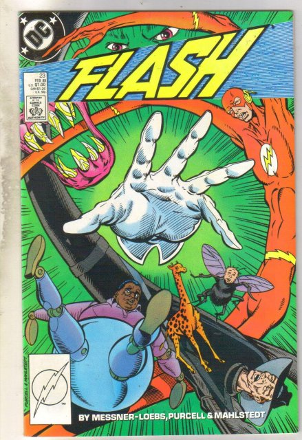 Flash #23 comic book near mint 9.4