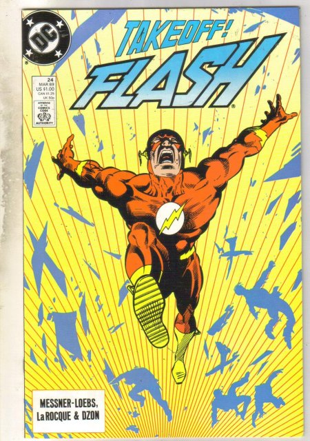 Flash #24 comic book near mint 9.4