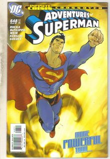 Adventures of Superman #648 comic book near mint 9.4