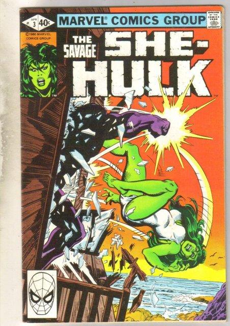 Savage She-Hulk #3 comic book fine/very fine 7.0