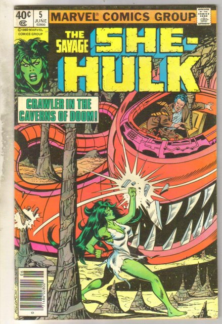 Savage She-Hulk #5 comic book fine/very fine 7.0