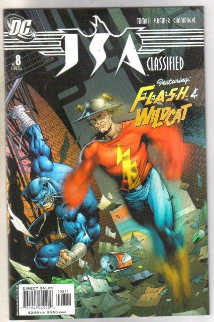JSA Classified #8 comic book near mint 9.4