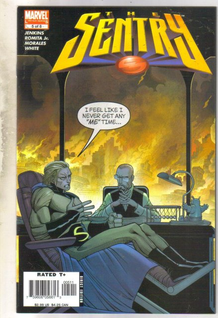 Sentry #5 comic book near mint 9.4