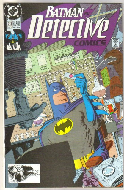 Detective Comics #619 comic book near mint 9.4