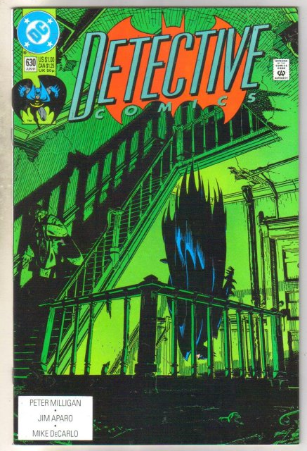 Detective Comics #630 comic book mint 9.8