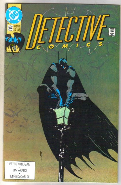 Detective Comics #632 comic book near mint 9.4