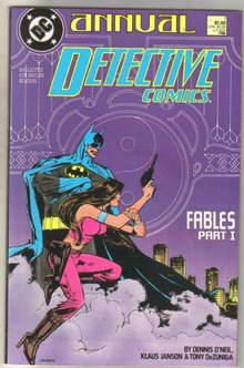 Detective Comics Annual #1 comic book near mint 9.4