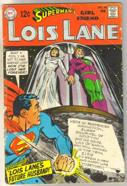 Superman's Girlfriend Lois Lane #90  comic book very good 4.0