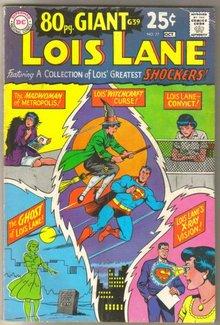 Superman's Girlfriend Lois Lane #77 comic book very good plus 4.5