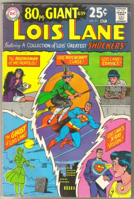 Superman's Girlfriend Lois Lane #77 comic book very good plus 4.5