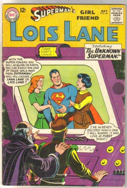 Superman's Girlfriend Lois Lane #49 comic book very good 4.0