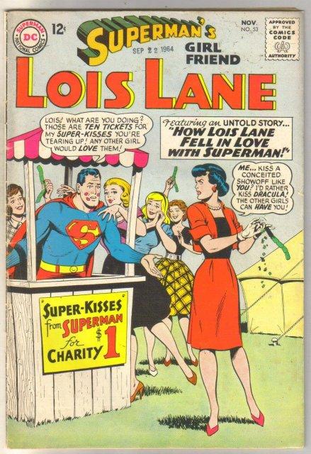 Superman's Girlfriend Lois Lane #53 comic book very good 4.0