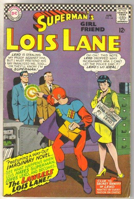 Superman's Girlfriend Lois Lane #64 comic book very good 4.0