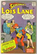 Superman's Girlfriend Lois Lane #64 comic book very good 4.0
