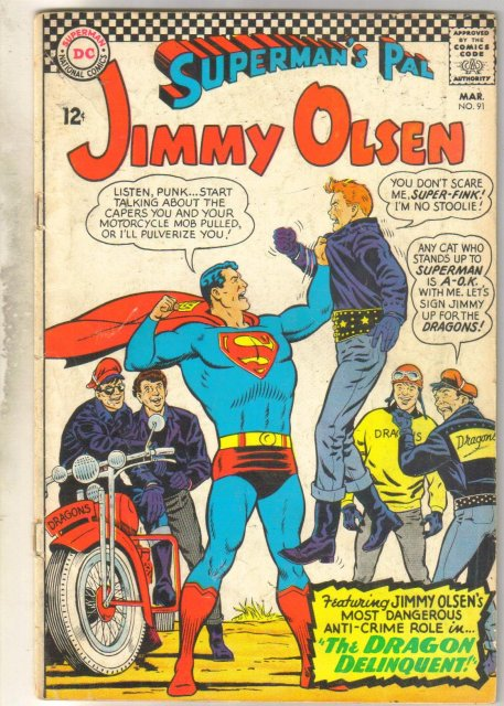 Superman's Pal Jimmy Olsen #91 comic book good/very good 3.0