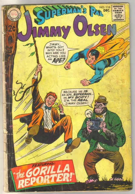 Superman's Pal Jimmy Olsen #116 comic book good 2.0