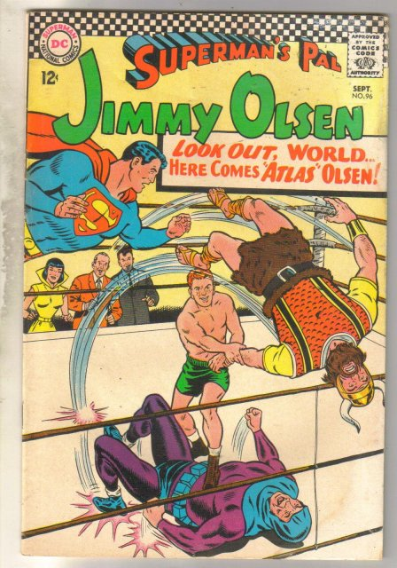 Superman's Pal Jimmy Olsen #96 comic book good 2.0