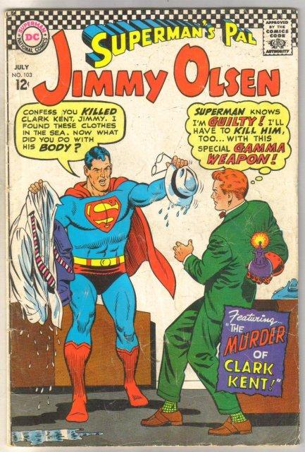 Superman's Pal Jimmy Olsen #103 comic book good/very good 3.0