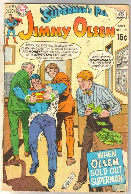 Superman's Pal Jimmy Olsen #132 comic book faie 1.5
