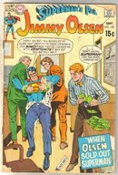 Superman's Pal Jimmy Olsen #132 comic book faie 1.5