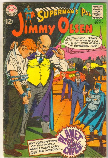 Superman's Pal Jimmy Olsen #117 comic book very good 4.0