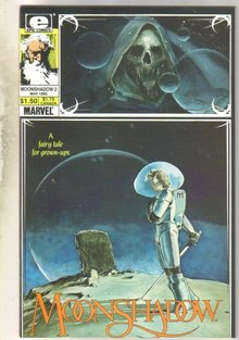 Moonshadow #2 comic book mint 9.8