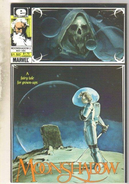 Moonshadow #2 comic book mint 9.8