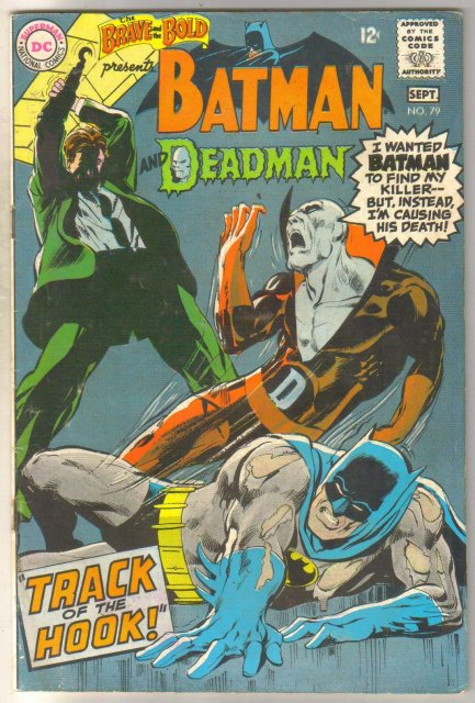 Brave and the Bold #79 with Deadman comic book good/very good 3.0