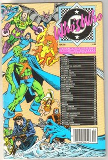 Who's Who in the DC Universe #14 comic book near mint 9.4