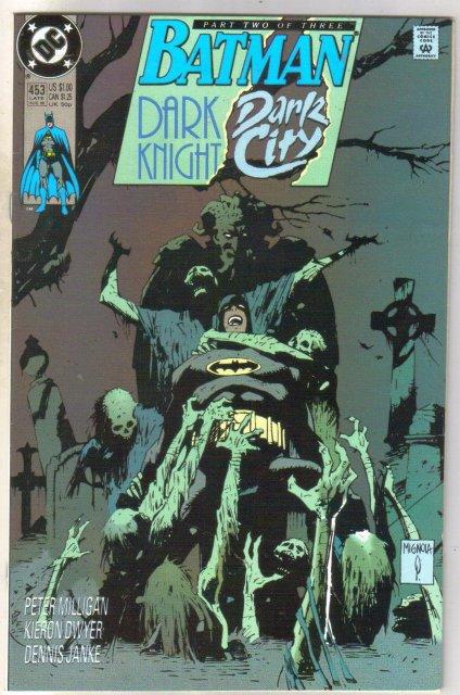 Batman #453 comic book near mint 9.4