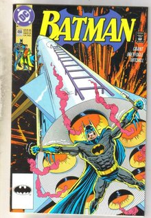 Batman #466 comic book near mint 9.4